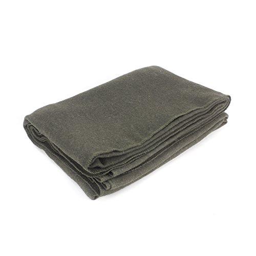 Everone Wool Fire Retardant Blanket Grey 62 Quot X 80 Quot