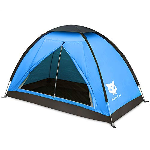 Night Cat Backpacking Tent for One 1 to 2 Persons ...