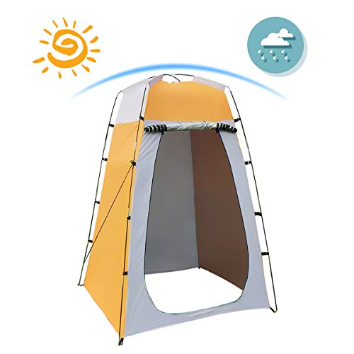 Shower Tent Quick Set Up Privacy Tent Dressing Tent ...